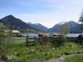 Oberbayern Tegernsee Schliersee Freizeit Ferienwohnung umgeben von gesunder Landluft genießt man ein